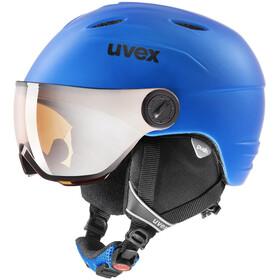 UVEX Junior Visor Pro Kypärä Lapset, cobalt mat